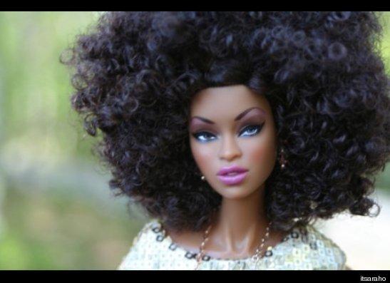Barbie Afro